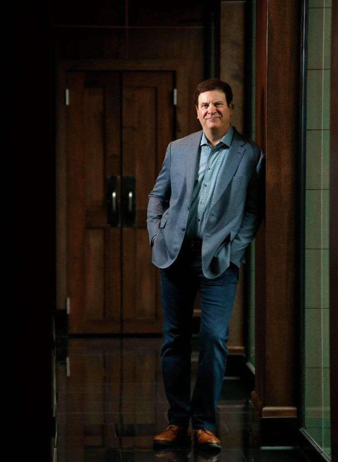 Todd Wagner, chairman and CEO of the Charity Network, at Trulucks in Dallas on March 24, 2017. (Nathan Hunsinger/The Dallas Morning News)