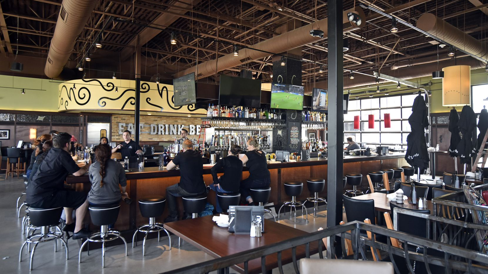 Bar Louie opened at Toyota Music Factory in Irving in 2017. That location is not among the 38 closed restaurants in the United States.