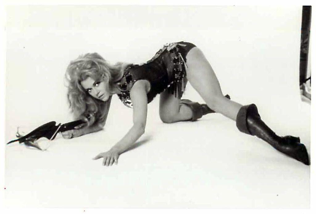 Jane Fonda in the movie Barbarella.