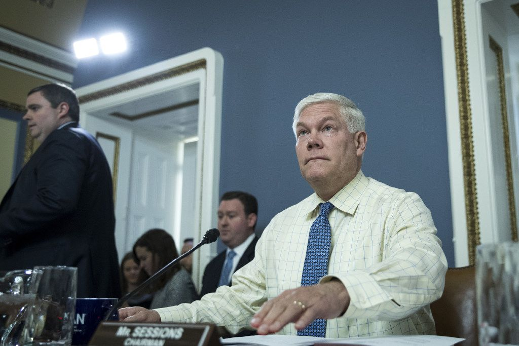 "Rep. Pete Sessions, R-Dallas, says parts of the Russia sanctions bill would put the ""United States at a disadvantage."""