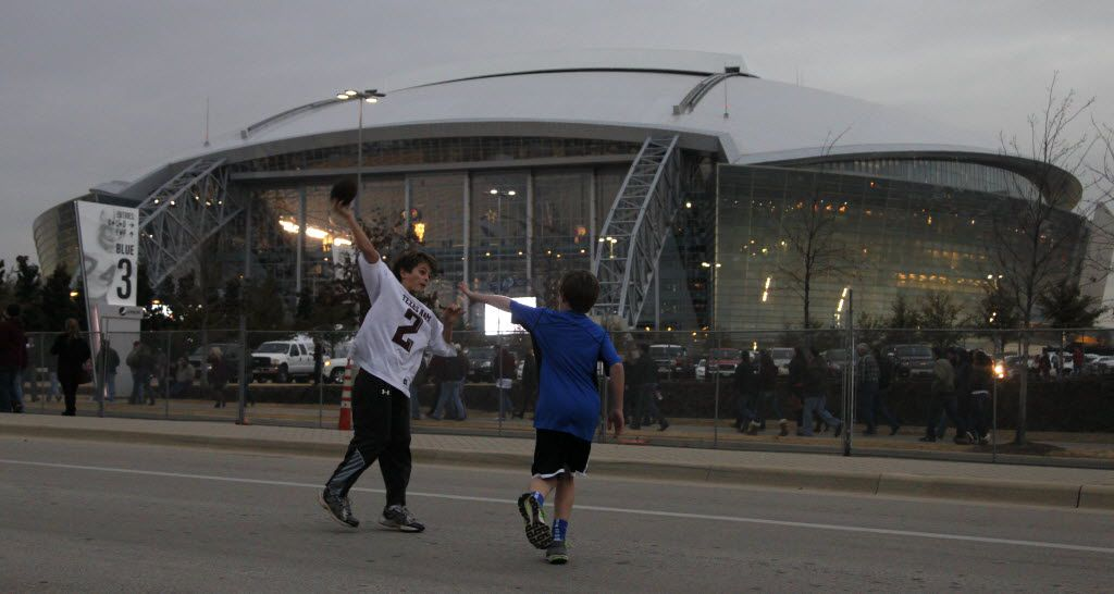 AT&T Stadium was approved by Arlington voters in a 2004 referendum. It passed with 55 percent of the vote. (File Photo/Staff)