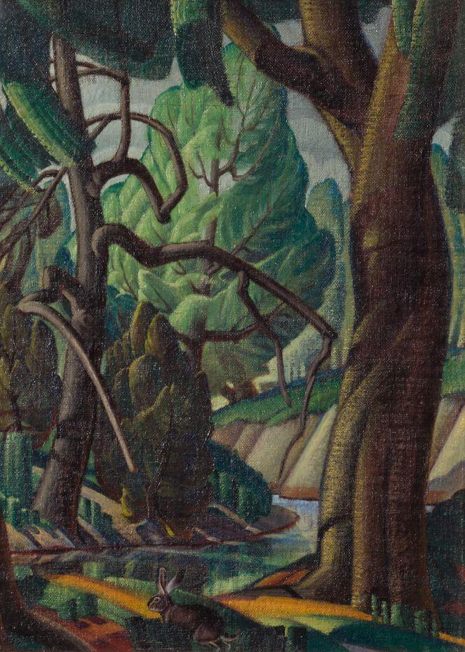 White Rock, Alexandre Hogue, 1926
