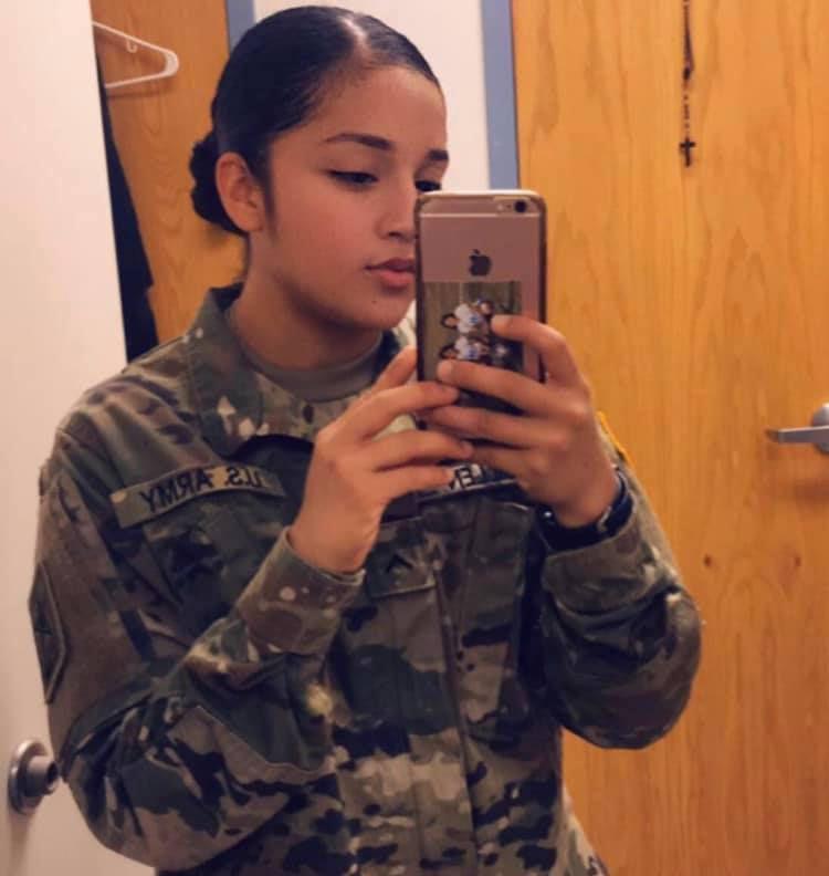 Vanessa Guillén, 20, desapareció el 22 de abril en la base militar de Fort Hood. Su familia ha pedido a las autoridades que haya una investigación efectiva que los ayude a encontrar a la joven.