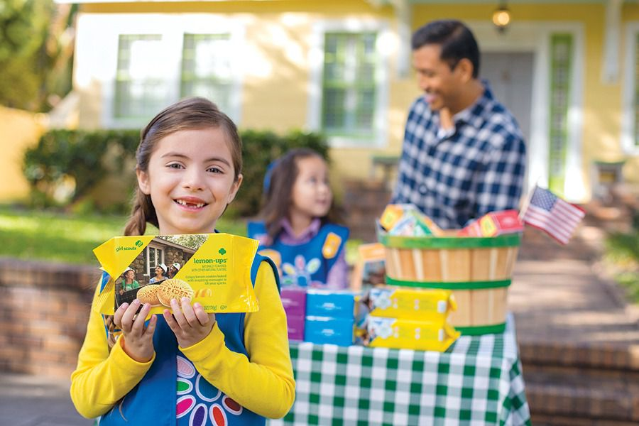 Select Girl Scouts in Dallas-Fort Worth will sell a new cookie called Lemon-Ups in 2020. Each box will cost $5.