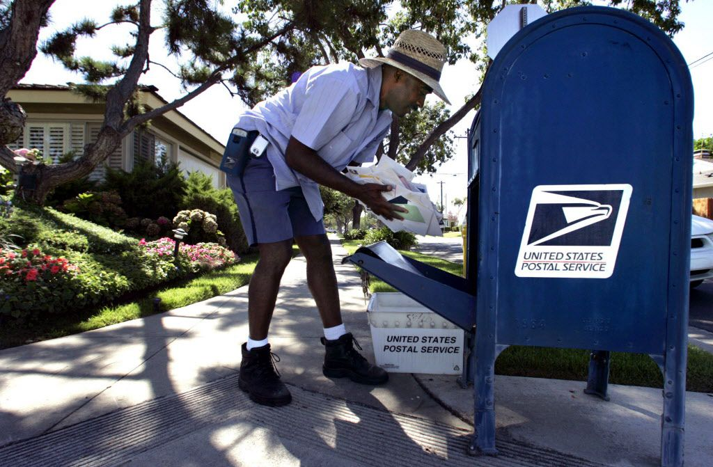 Your letter carrier might not be the only one looking to pick up your outgoing mail from those blue boxes.
