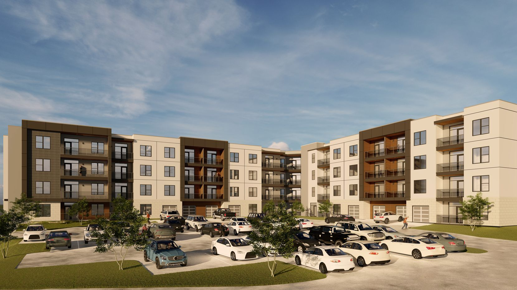 The Presidium at Hill Street apartment project is planned near Bush Turnpike.