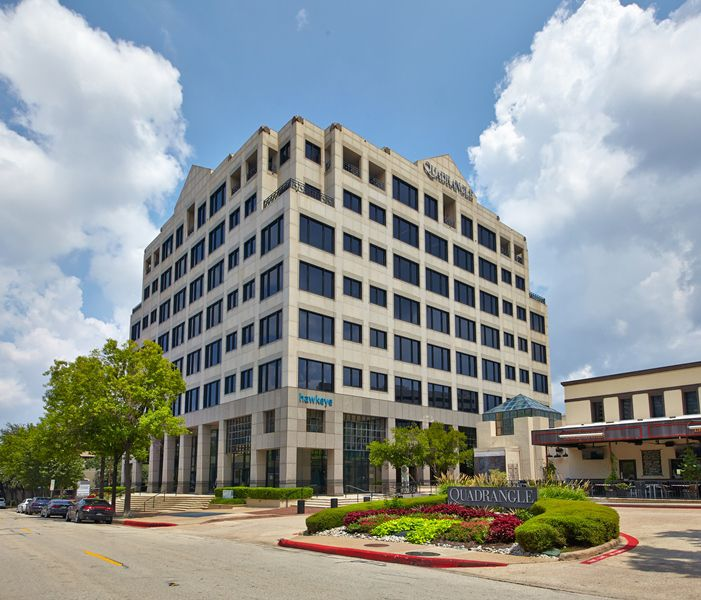 Stream Realty Partners purchased the Quadrangle office and retail center on Routh Street.