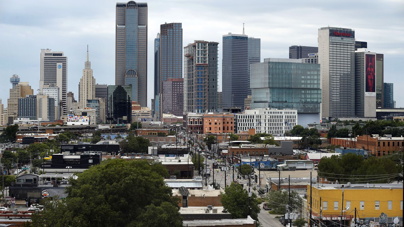Deep Ellum's location on the eastern edge of downtown Dallas is appealing to new business.