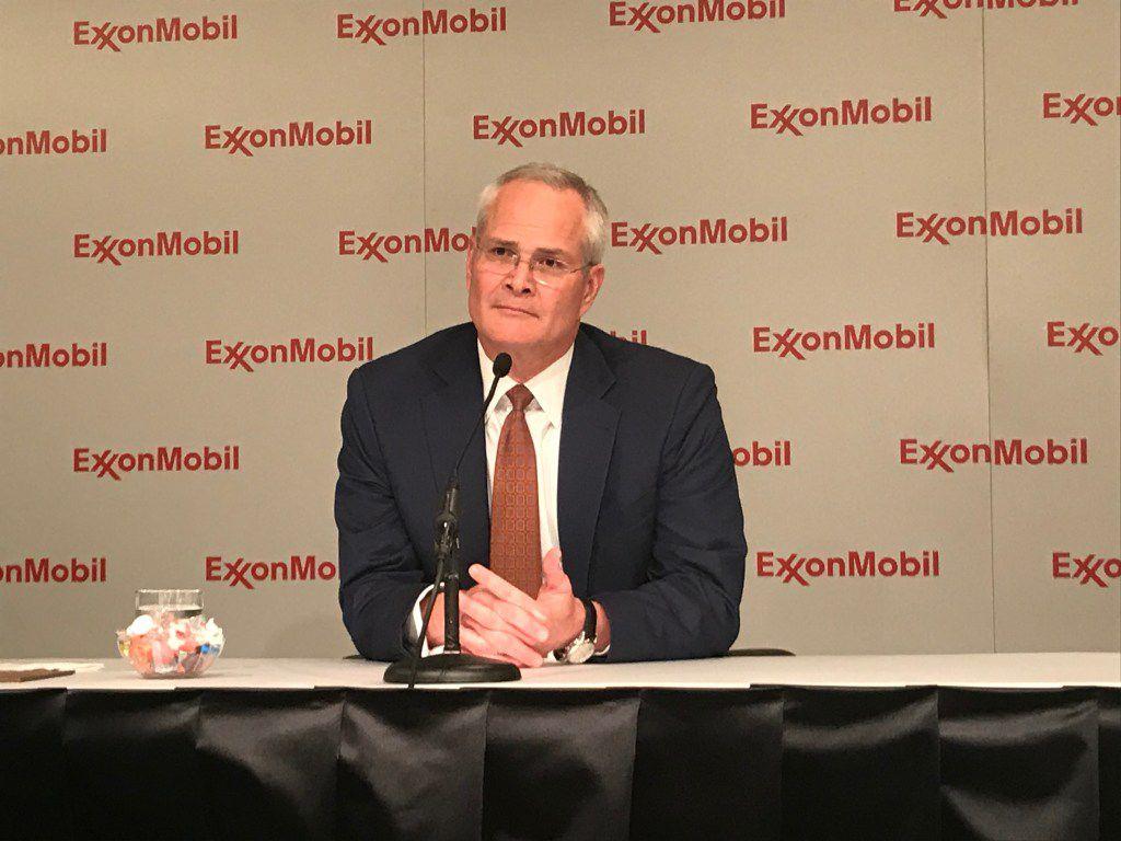 Exxon CEO Darren Woods