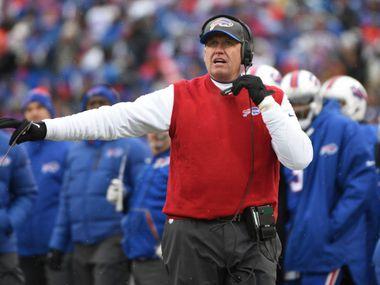El exentrenador en jefe de lo Bills de Buffalo, Rex Ryan, expresó comentarios muy negativos en contra del receptor de los Dallas Cowboys, Amari Cooper.
