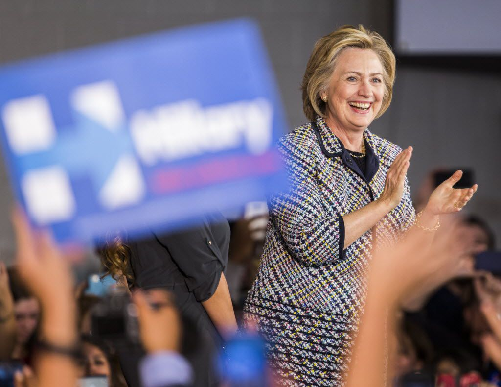 Hillary Clinton, who made a fundraising stop for her presidential campaign in Dallas in 2015, has endorsed Dallas lawyer Regina Montoya as mayor.