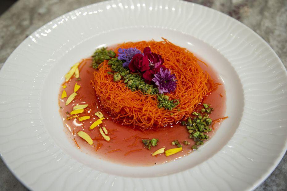 With chef Avner Samuel in the kitchen, Nosh Bistro had Mediterranean flair.