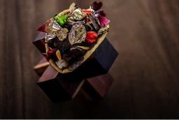 A photo of the $25,000 taco, from the Grand Velas Los Cabos resort web site.