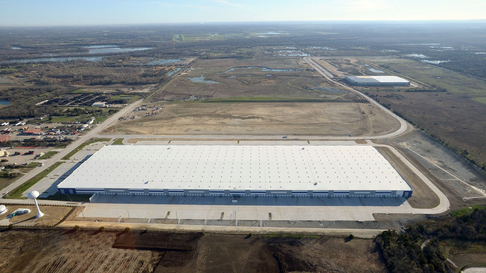 The Southport Logistics Park is room for more than 8 million square feet of warehouses.