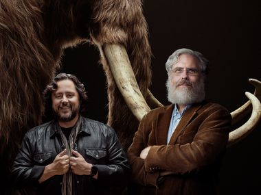 """Ben Lamm and George Church plan to use CRISPR technology to create a """"living, walking proxy of a woolly mammoth."""""""