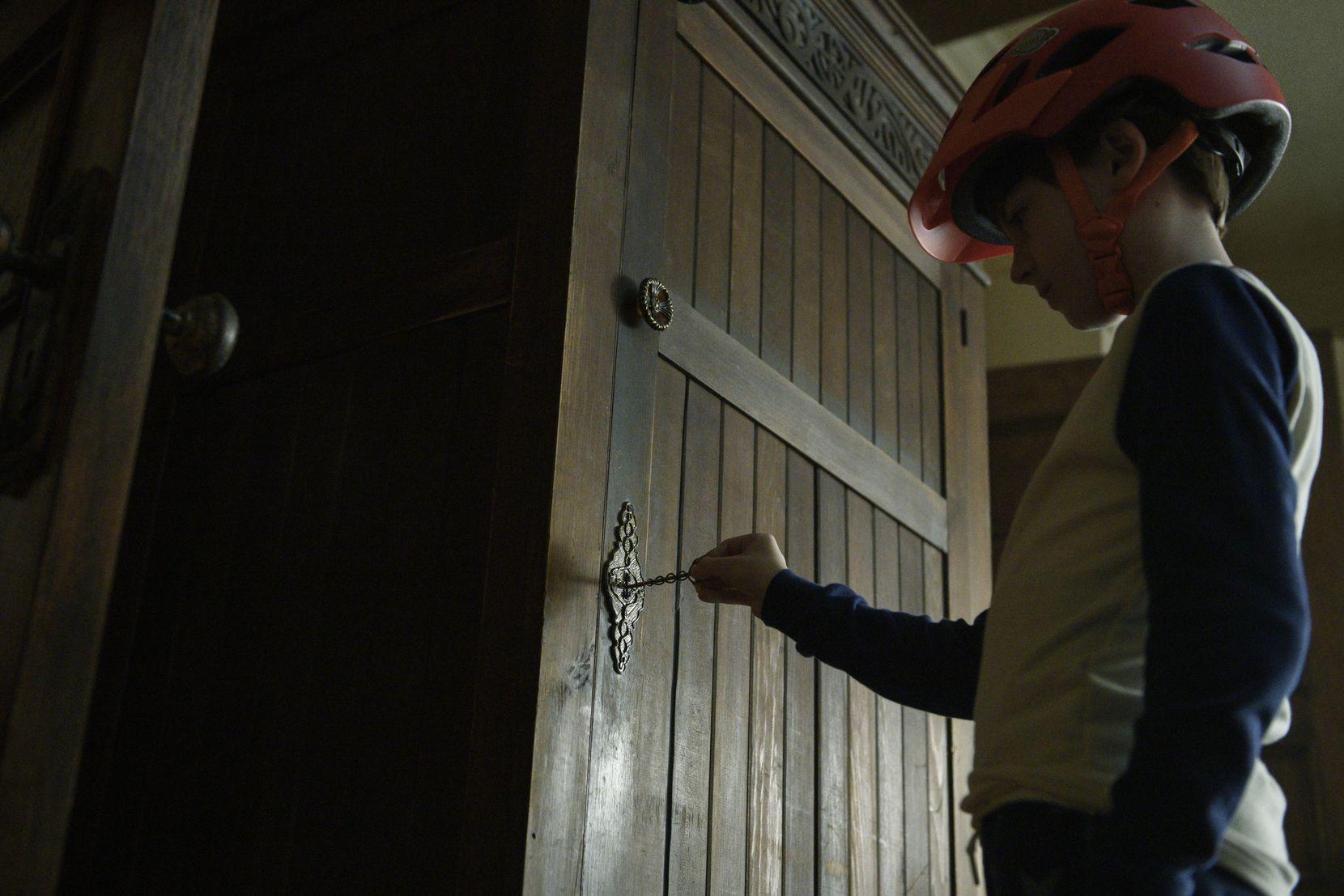 "Jackson Robert Scott in Netflix's ""Locke & Key."""