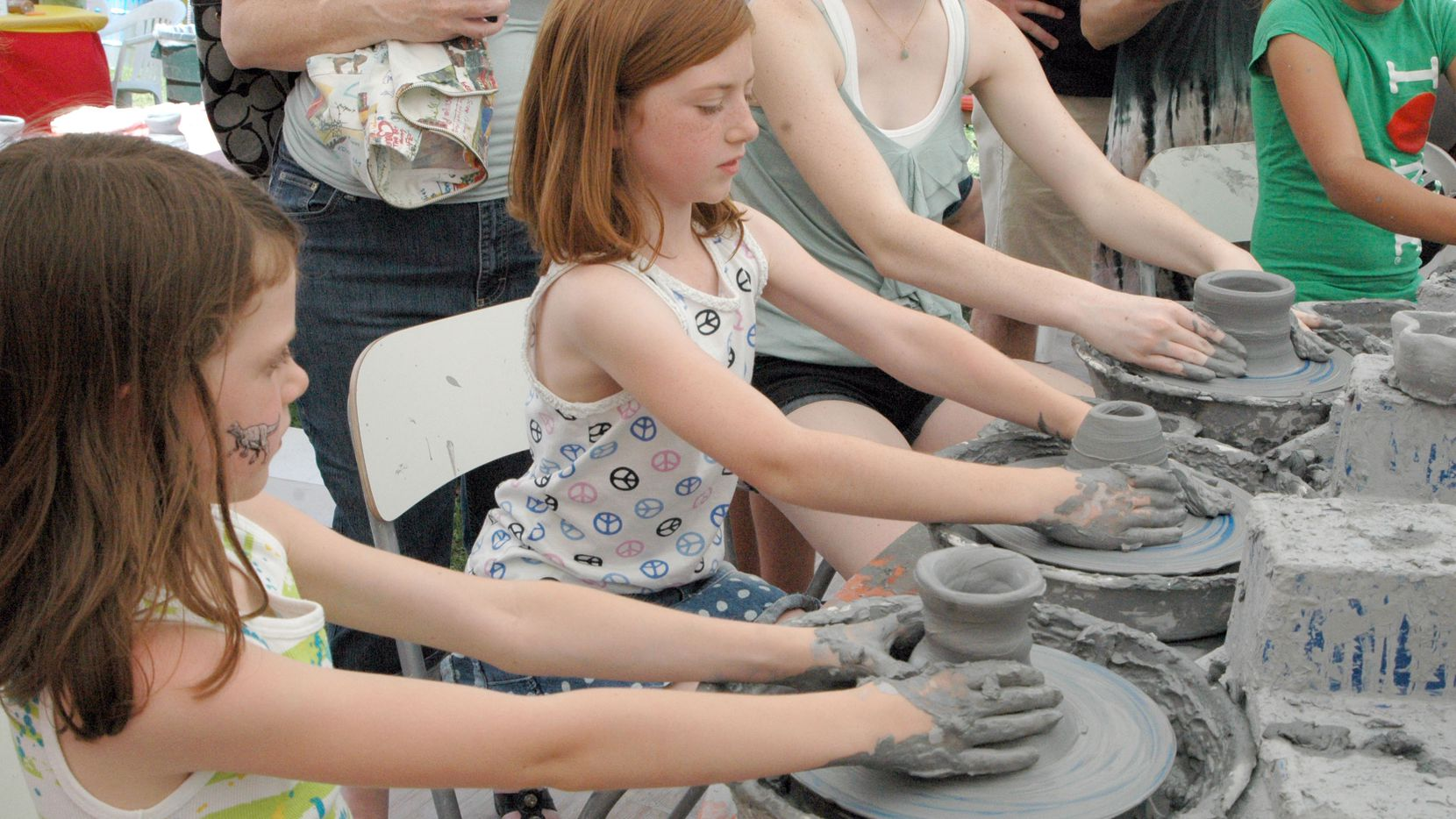 Children participated in various art activities at a past Cottonwood Art Festival.