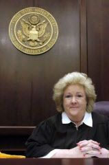 In the 8 1/2-year-old Texas foster-care suit, U.S. District Court Judge Janis Graham Jack is now in the driver's seat. (2005 File Photo/Corpus Christi Caller-Times)