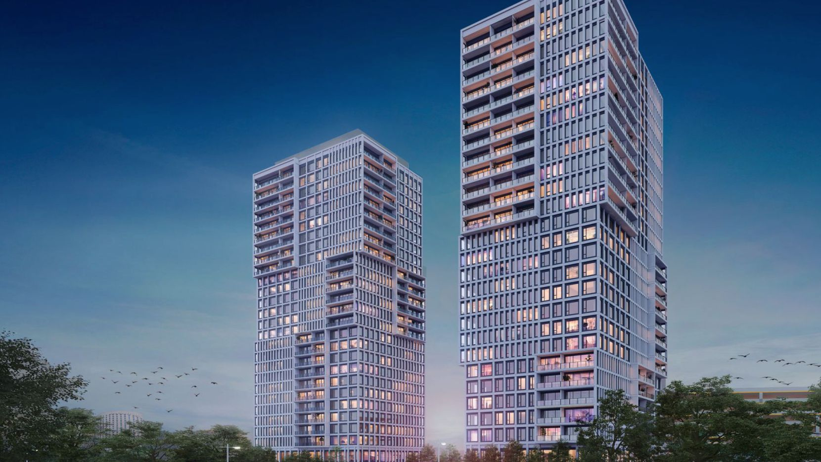 Plans for the first of two Urby towers are moving ahead in Dallas' Design District.