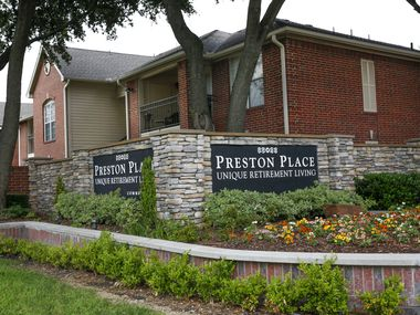 Preston Place Retirement Community located in Plano, Texas on Wednesday, June 5, 2019. One of the communities where Billy Chemirmir, accused serial killer, allegedly targeted elderly women. (Brian Elledge/The Dallas Morning News)