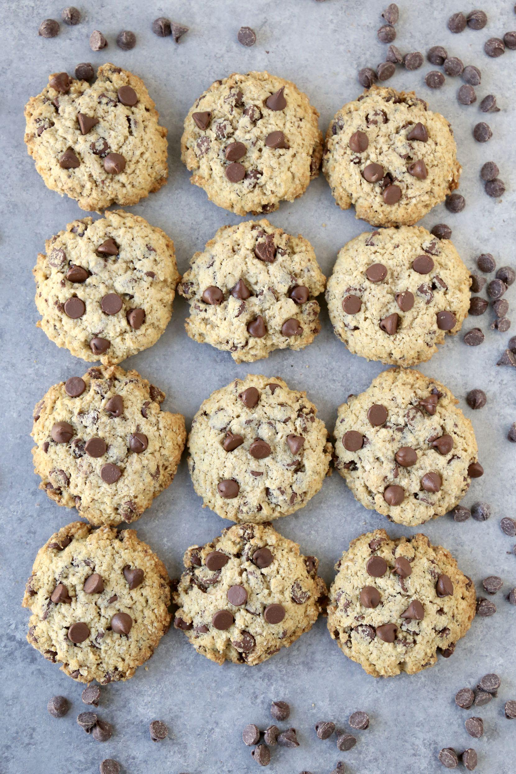 Monk Fruit Chocolate Chip Cookies