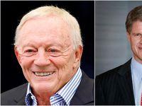 Dallas Cowboys owner Jerry Jones (left) and Kansas City Chiefs owner Clark Hunt.