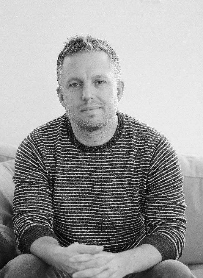 Joe Tone, author of Bones