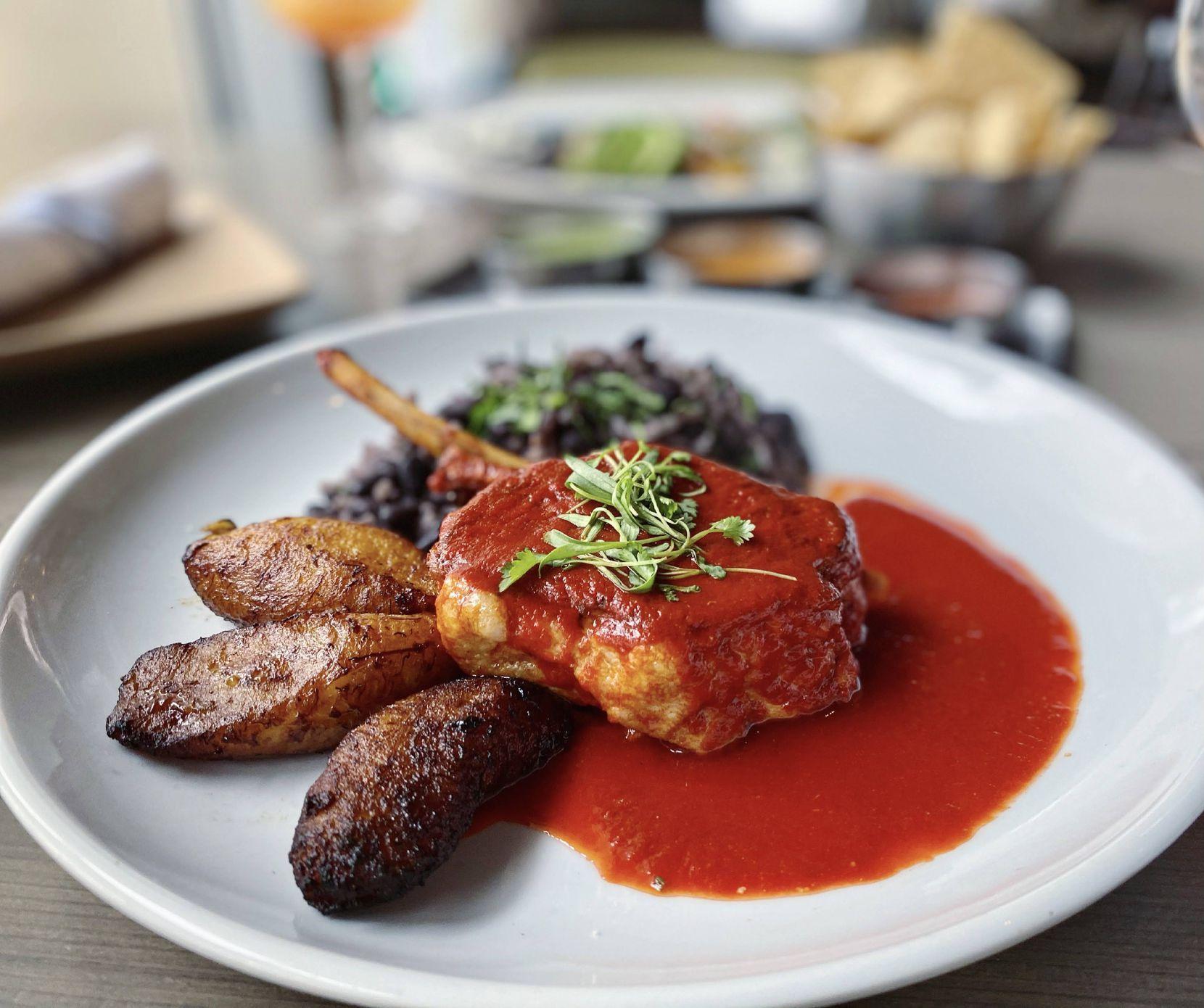 Miriam Cocina's Father's Day menu includes the Los Padres pork chop.