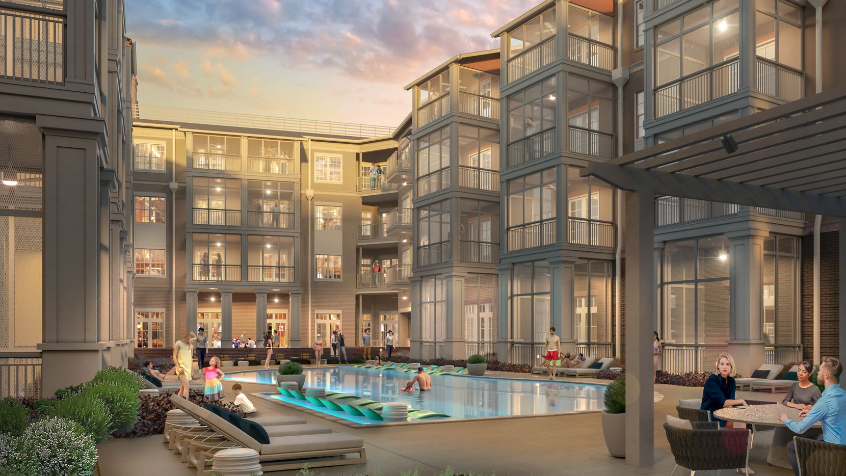 The Margo Apartments will be the third phase of The Canals at Grand Park development.