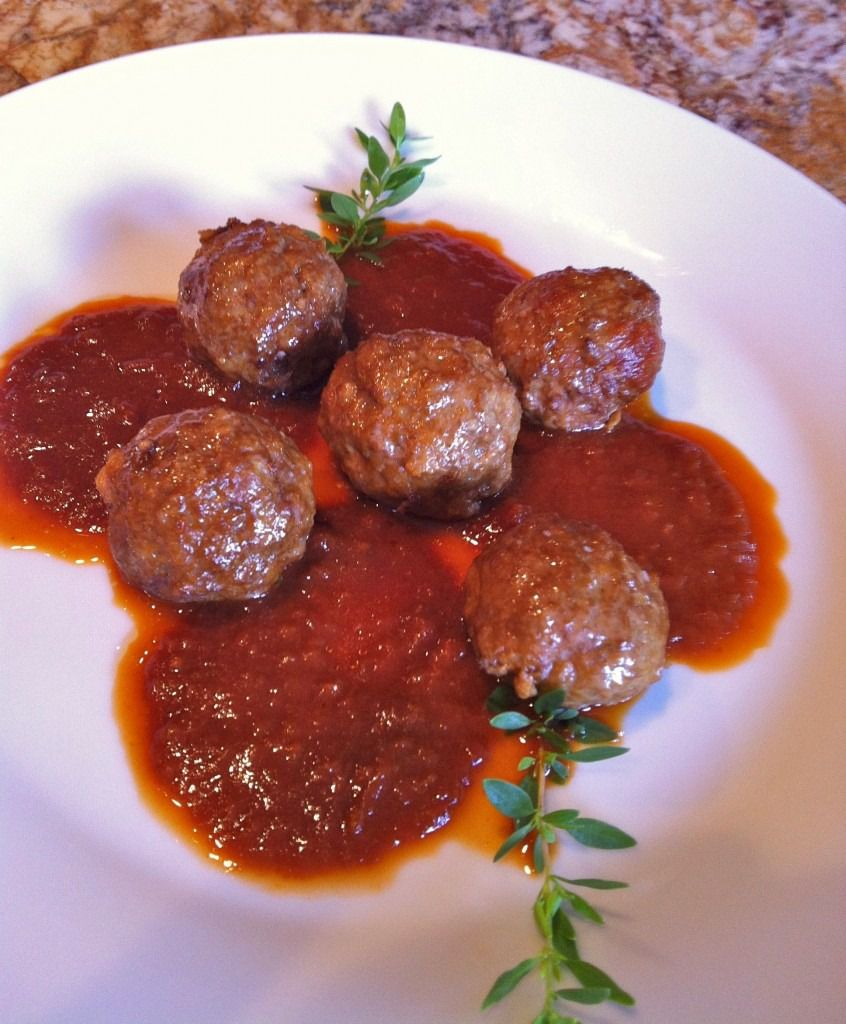 "Chile Ancho Meatballs, from Adan Medrano's ""Truly Texas Mexican: A Native Culinary Heritage in Recipes,"" is the first dish featured in the food documentary ""Truly Texas Mexican,"" based on his book."