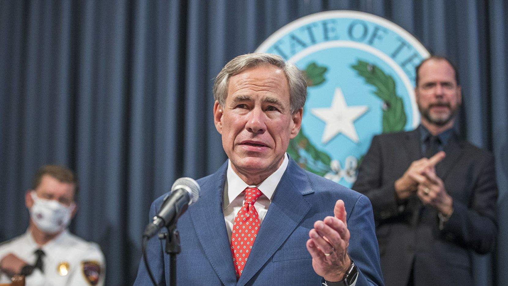 No new shutdown of businesses in Texas is coming, at least not statewide, Gov. Greg Abbott insisted Thursday, as he touts arrival of new coronavirus treatment at Lubbock hospital.