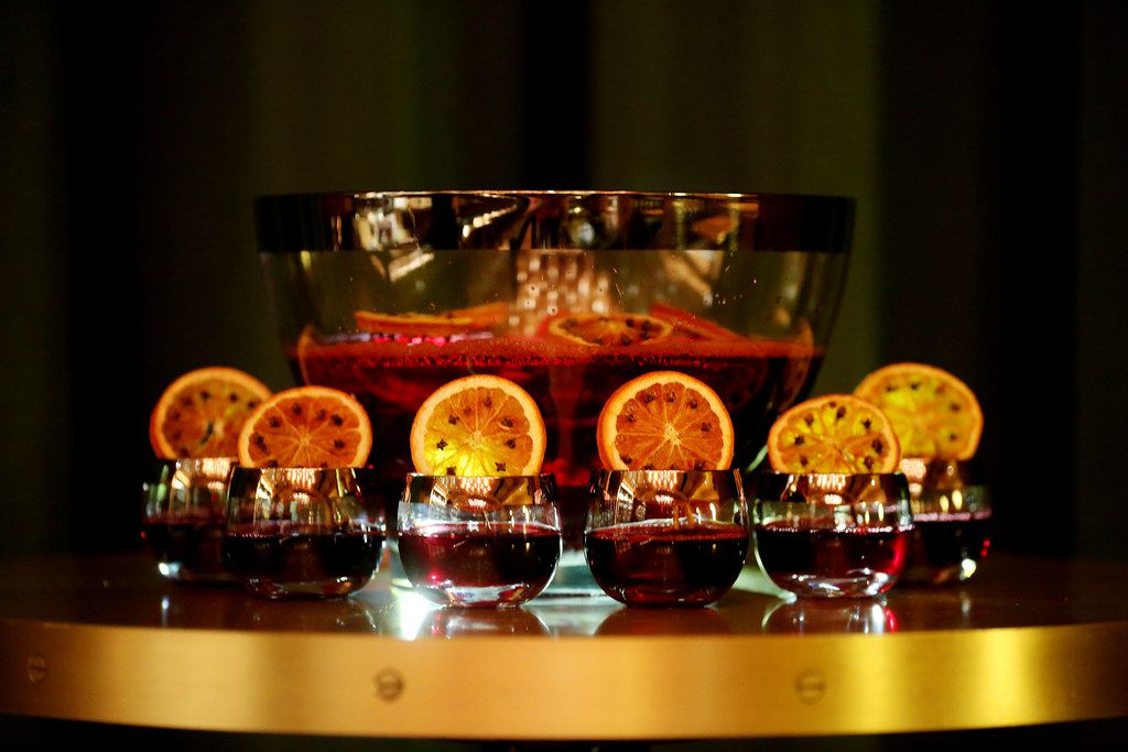 Boho-A-Go-Go punch served at Midnight Rambler