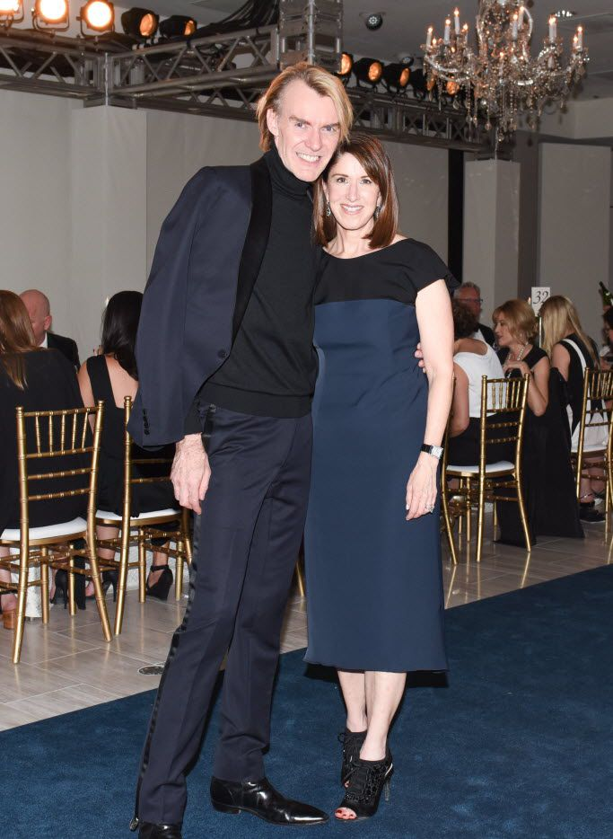 Ken Downing and Karen Katz attended a black-tie gala celebrating the 50th Anniversary of Neiman Marcus NorthPark and NorthPark Center in 2015.