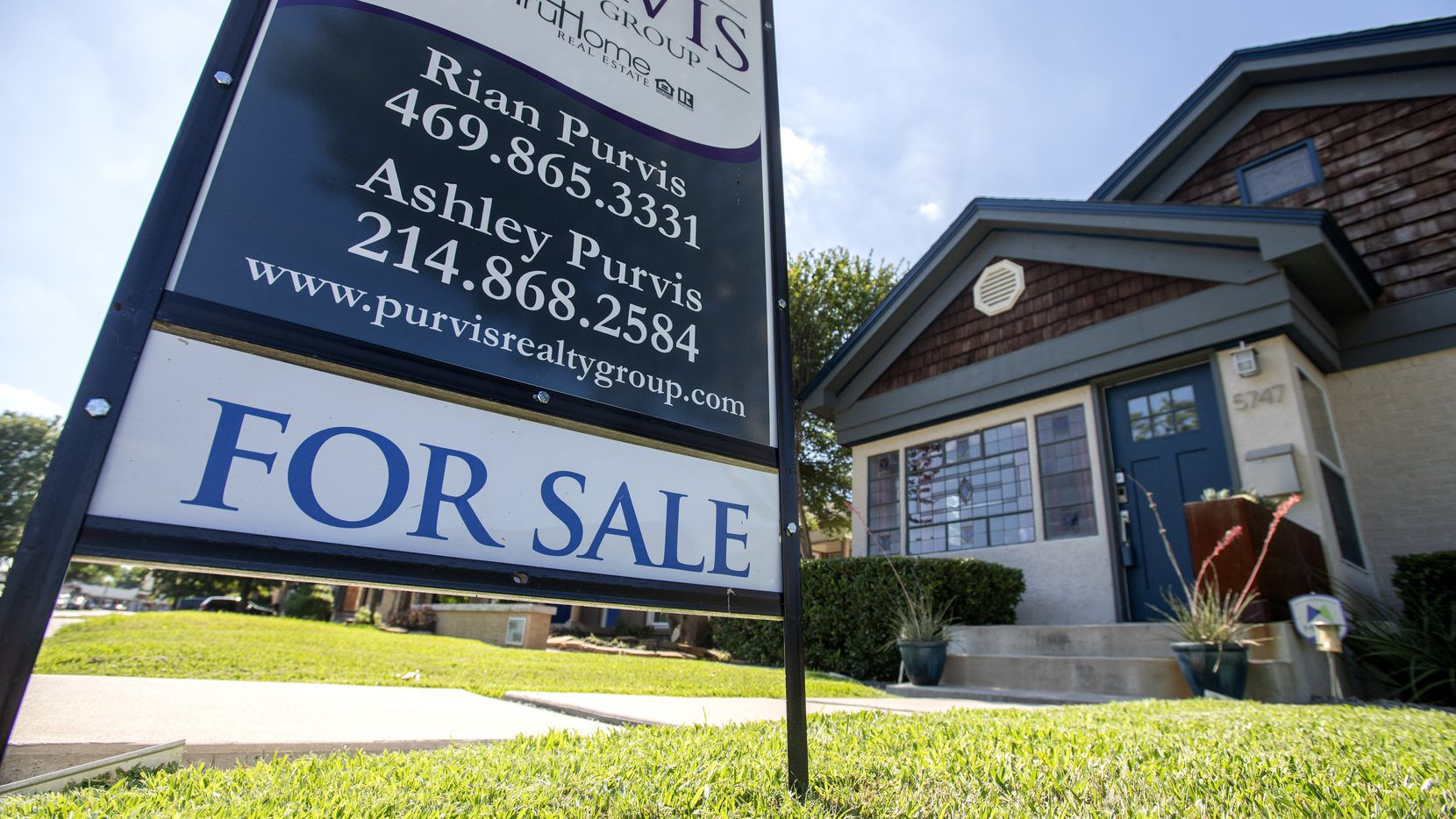 Home sales were down in all but about a dozen Dallas-area residential districts in the first half of 2020.