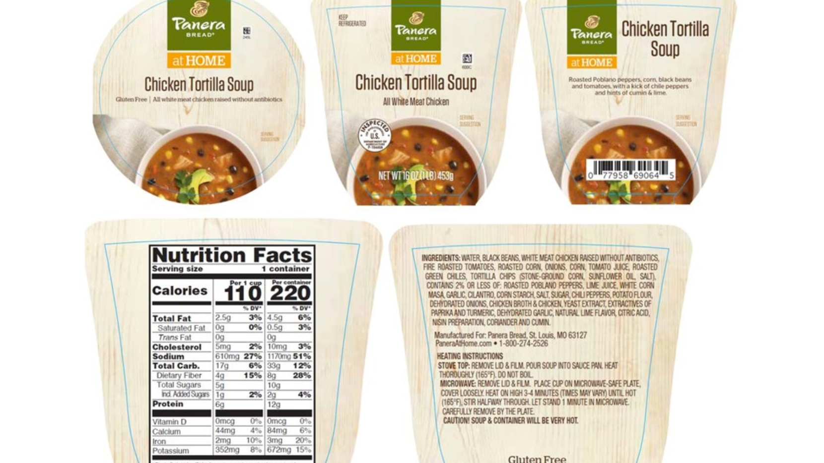 A McKinney business is recalling more than 6,300 pounds of chicken tortilla soup for possible contaminants.