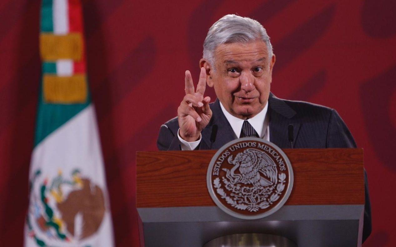 El presidente de México Andrés Manuel López Obrador.