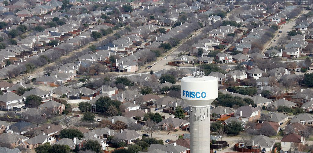Frisco's median home value is $396,500, according to real estate site Zillow.