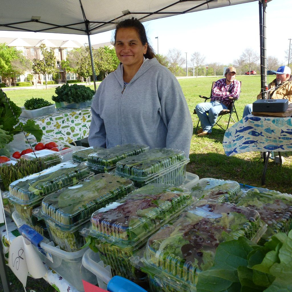 Lori Crawford co-owns Crawford Farms with husband, Steve, in East Texas. They're new vendors to the area, and you can find them at the new location of the Public Farmers Market in East Garland.