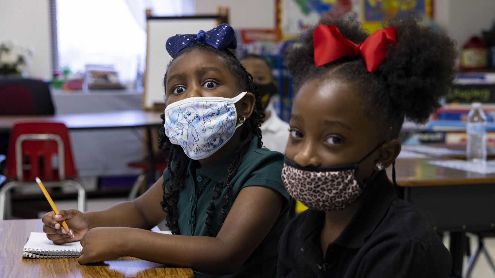 The Texas Education Agency won't issue updated health guidance related to masks as school districts face off with state officials over the governor's mask mandate ban.