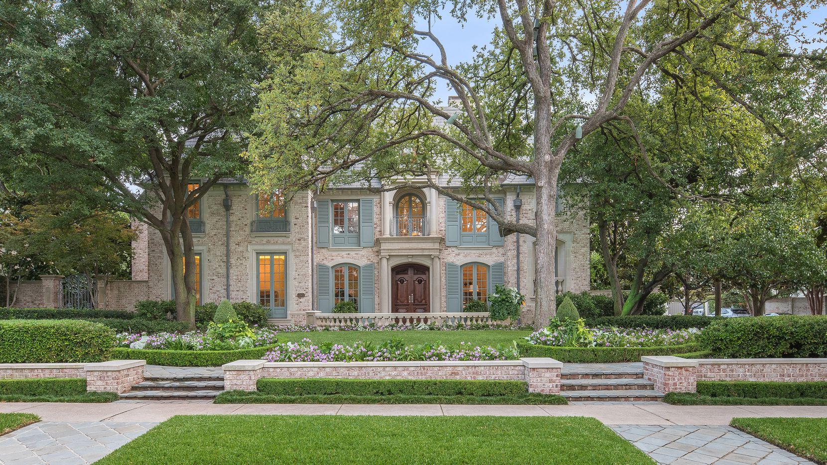 The estate at 4241 Lorraine Ave. is being offered by Erin Mathews, senior executive vice president of Allie Beth Allman & Associates.