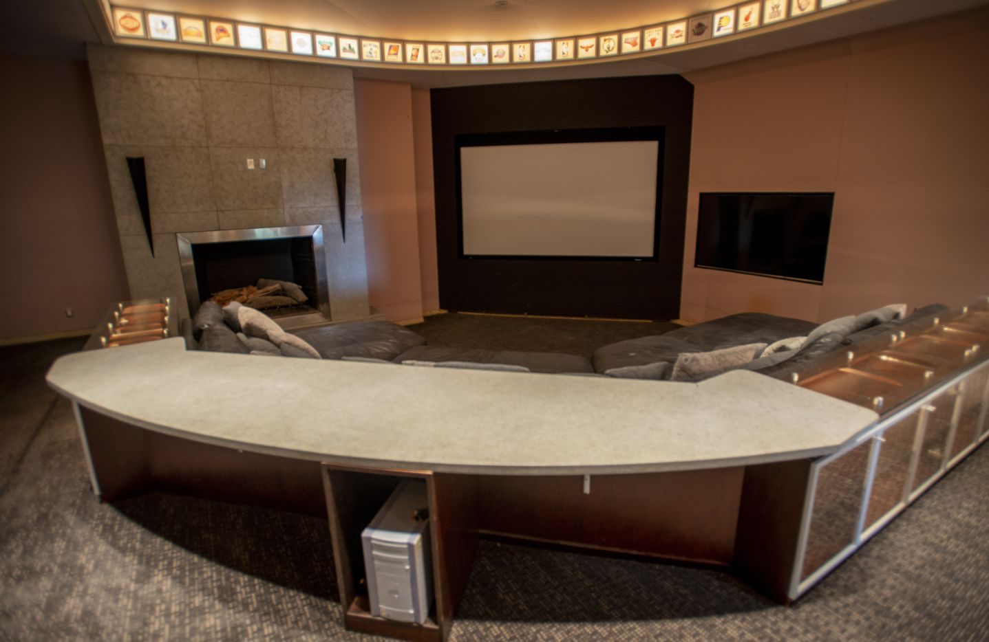 Movie theater at 5101 Kensington Ct., in Flower Mound, Texas on August 19, 2020. (Robert W. Hart/Special Contributor)