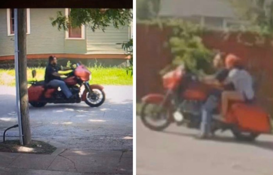 Police released these images of a person of interest.