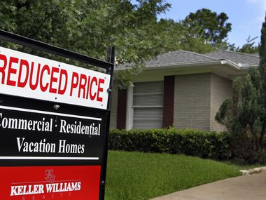 Median home prices in North Texas are down 3% from a year ago.