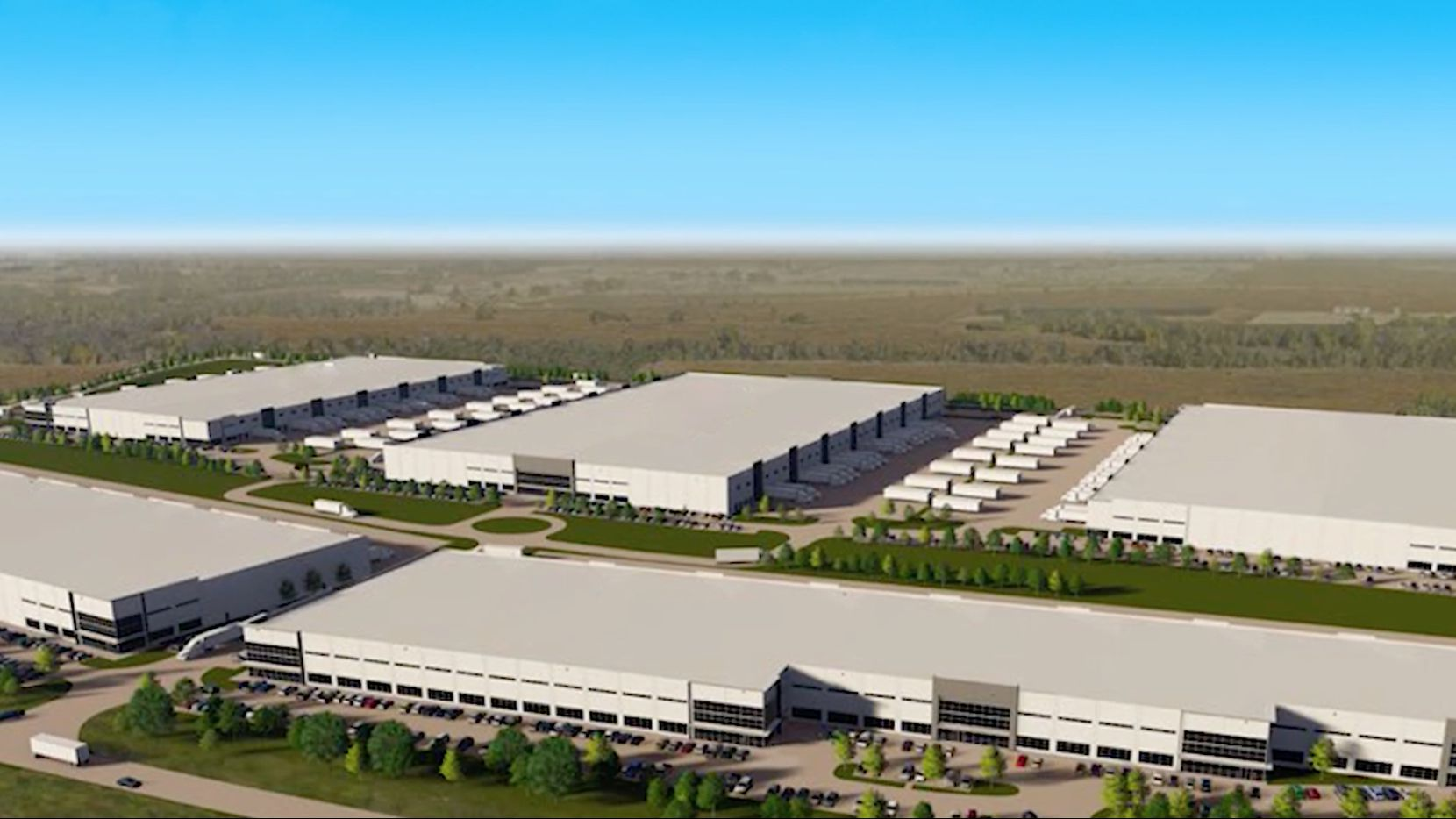 Legendzway Distribution has leased a building in the Gateway Logistics Center at the south end of DFW Airport.