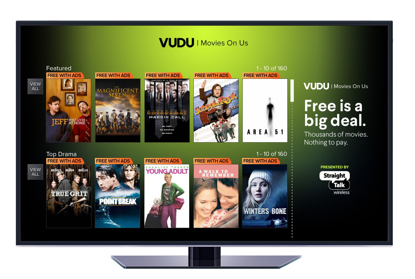 Walmart purchased the Vudu video-streaming service in 2010.