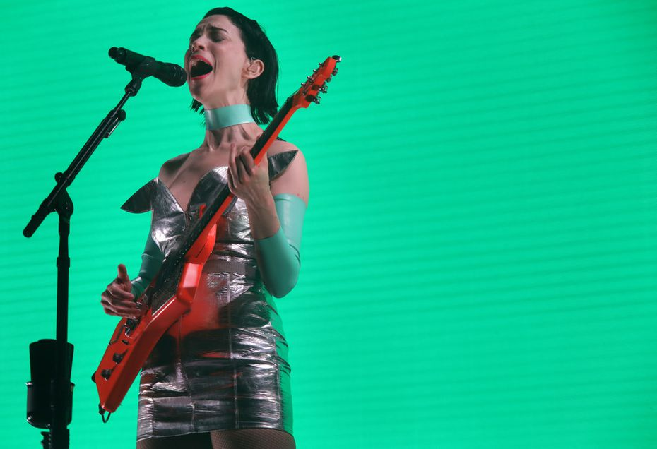 St. Vincent performs in Dallas on Feb. 24, 2018 for the first time in nearly three years.