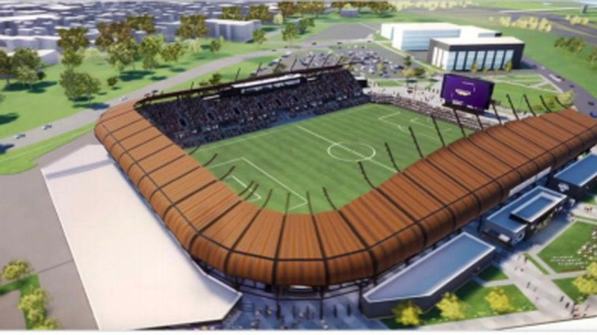 A $150 million, 8,000-seat stadium may be coming to north Fort Worth as part of a plan outlined by city council member Cary Moon.