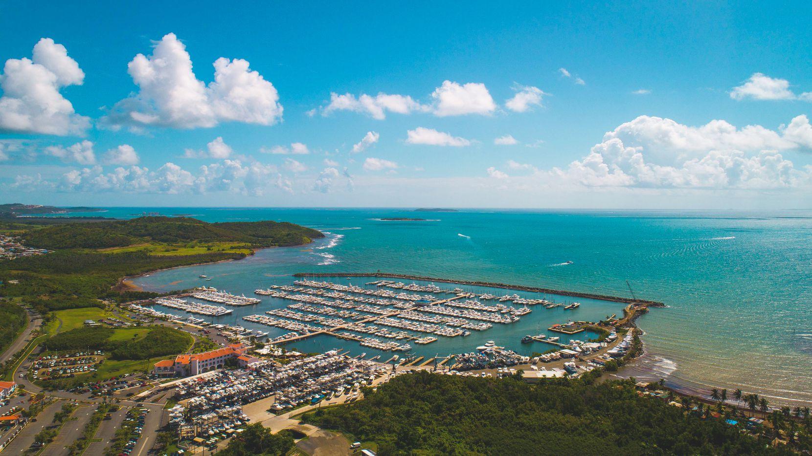 Puerto Del Rey marina in Fajardo, Puerto Rico.