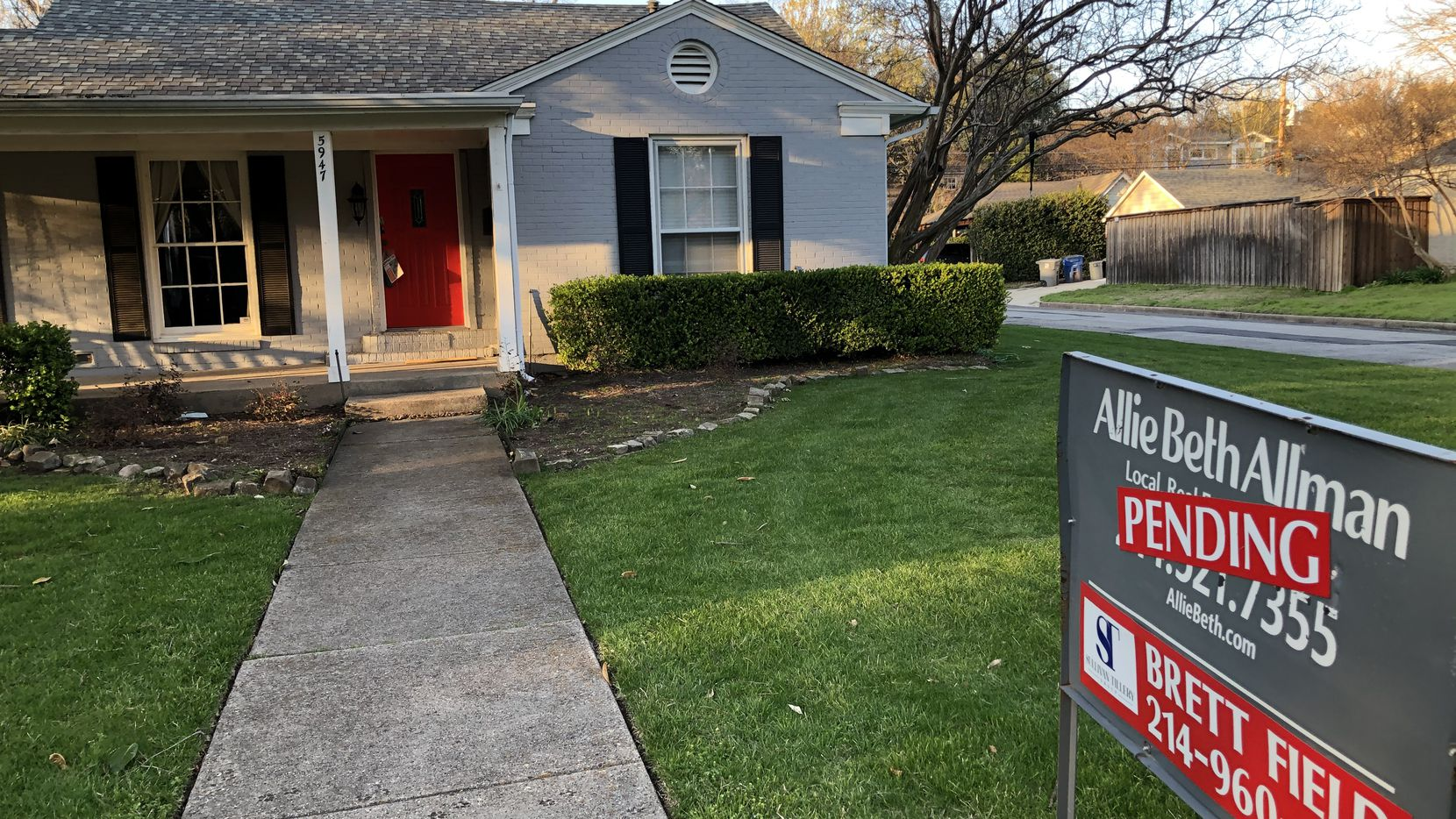 D-FW's current record home sales are expected to extend into 2021.