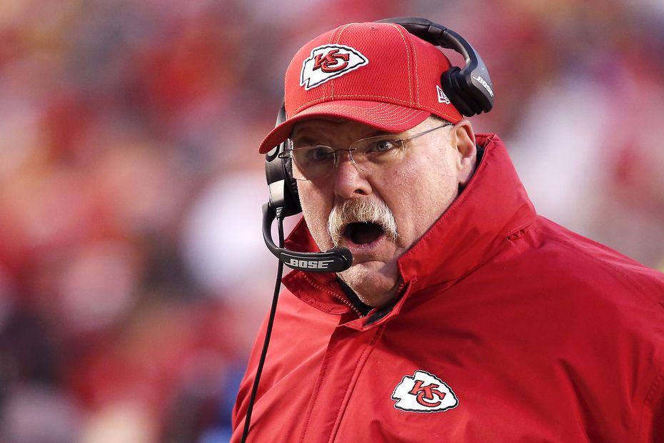 El entrenador de los Chiefs de Kansas City, Andy Reid, es considerado uno de los mejores en la historia de la NFL.
